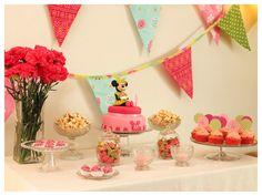 Minnie party table by Lume Brando