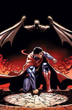 Batman vs Superman by Bruno Redondo  #Injustice #GodsAmongUs