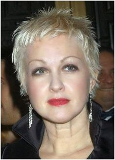 Cute Short Pixie Haircuts for Women Over 50