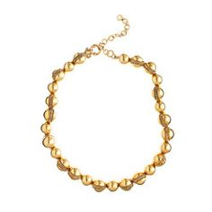 inspiration for a gold pearl leash
