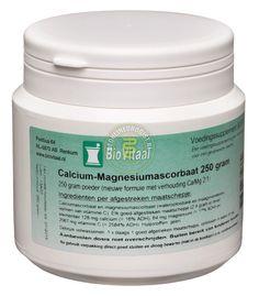 Biovitaal Calcium-Magnesium Ascorbaat Poeder 250gr