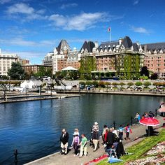 Victoria - BC. Lived here for a month when I was 25, interesting time! Love it here...