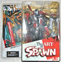 McFarlane Spawn Action Figure Series 26 The Art of Spawn 2004 Spawn Issue 7 Cover Art