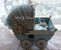 Shabby Baby Carriage by Kianel