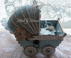 Shabby Baby Carriage by Kianel