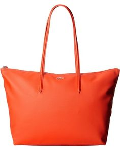 57def59ecf Lacoste L.12.12 Concept Large Shopping Bag Golden Poppy $89 SHIPS FREE or  PICK UP