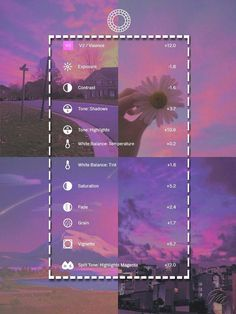 Want create a beautiful photo? Photography Filters, Photography Editing, Photography Guide, Photography Lighting, Photography Courses, Photography Services, Vsco Pictures, Editing Pictures, Fotografia Vsco