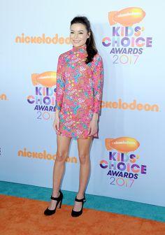 LOS ANGELES, CA - MARCH 11:  Actor Miranda Cosgrove at Nickelodeon's 2017 Kids' Choice Awards at USC Galen Center on March 11, 2017 in Los Angeles, California.  (Photo by Jon Kopaloff/FilmMagic) via @AOL_Lifestyle Read more: https://www.aol.com/article/entertainment/2017/03/11/kids-choice-awards-2017-red-carpet-arrivals/21880105/?a_dgi=aolshare_pinterest#fullscreen