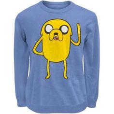Old Glory Adventure Time Jake Sweater: Amazon.co.uk: Clothing