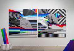 O artista argentino, conhecido internacionalmente pelas intervenções urbanas com formas geométricas muito elaboradas, inaugura esta sexta-feira a sua primeira exposição individual em Portugal, na galeria Underdogs.