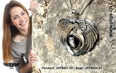 Angel-Wings - snap pendant for an exchangeable snap-button. A wide range of snap-buttons and other pendants you will find on PLGS. Angel Wings, Washer Necklace, Pendants, Range, Buttons, Jewelry, Fashion, Fashion Jewelry, Christmas Presents
