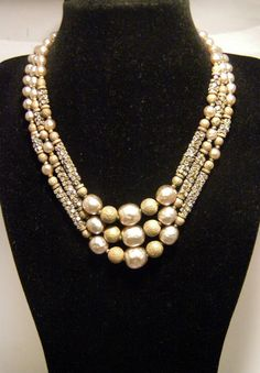 "N87 MONTEE CARLO (Signed ""MIRIAM HASKELL"" - necklace)"