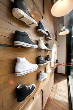 Wood Smithe – Converse Store Display