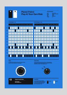 Image of - Planet Patrol - 'Play At Your Own Risk' Audio Design, Sound Design, Drum Patterns, Drums Beats, Recording Studio Design, Home Studio Music, Drum Machine, Dj Music, Electronic Music