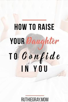 parenting How to raise your daughter to confide in you - one simple tip you may be overlooking. Christian parenting tips for mothers to build life-long relationships. Raising Daughters, Raising Girls, Teenage Daughters, Parenting Advice, Kids And Parenting, Parenting Classes, Parenting Styles, Practical Parenting, Foster Parenting