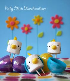 baby chick marshmallows