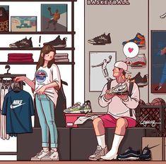 Que lindos..💞 Love Cartoon Couple, Cute Couple Comics, Cute Couple Art, Cute Love Cartoons, Cute Couples, Cute Cartoon Wallpapers, Animes Wallpapers, Couple Wallpaper Relationships, Relationship Cartoons