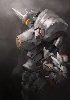 Overwatch: Reinhardt by arufa on DeviantArt. Justice will be done.