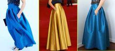 EVERYDAY SEW: ΜΑΧΙ ΣΑΤΕΝ ΦΟΥΣΤΑ DIY Skirt Tutorial, Prom Dresses, Formal Dresses, Sewing, Skirts, Tutorials, Crafts, Jewelry, Fashion