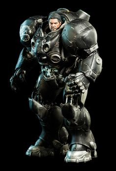 Jim Raynor Terran Space Marine - Starcraft 2 - Sideshow Collectibles 1/6 Scale Collectible Figurine