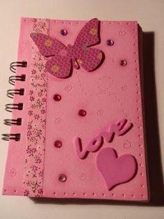 10 Ideas para Decorar Cuadernos para Niñas