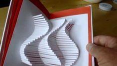 Kirigami Kitabı Tasarımı - Japon kağıt katlama sanatı (Kirigami) - teknikleri, örnekleri ve ipuçlarını videolu anlatımı. Kağıttan hediyelik ve özel günler için kirigami kitabı yapımı (Kirigami Book 10 Design Video)