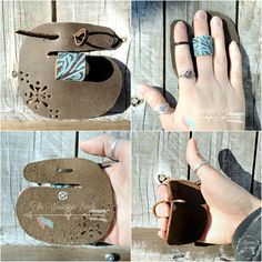 Handmade Finger Guard to protect the fingers from wear and tear from the bow string ( Archery )