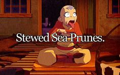 """I LOVE his face!!! """"Sure could go for some delicious sea prunes! *Nom nom nom* Mmm... *cough death* Mmm!!!"""""""