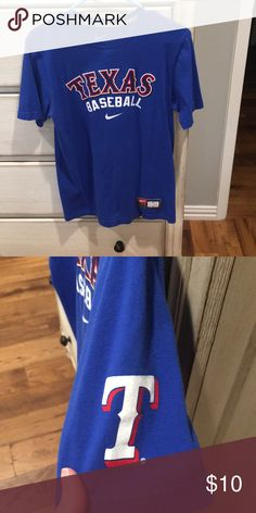 b4d18bdf709 Nike Texas Rangers t-shirt In good condition. No holes or stains. Comes