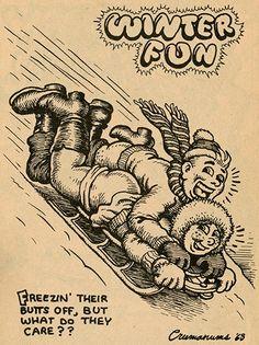 R. Crumb davidcharlesfoxexpressionism.com #robertcrumb #crumb #adultcartoons…