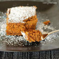 Three-Ingredient Spiced Rum Pumpkin Cake