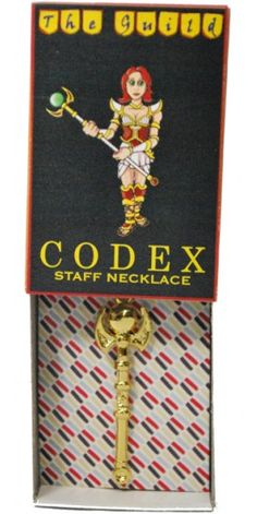 Codex Staff from the Guild necklace