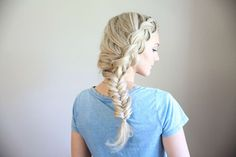 Combo Side Braid | Cute Girls Hairstyles