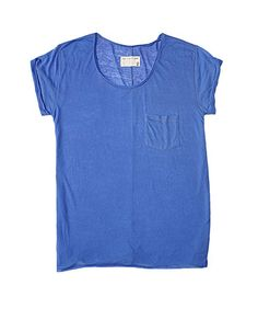 Rag Bone Saami Blue the Pocket Tee T Shirt