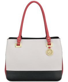 Anne Klein New Recruits Large Satchel. Macy's today! 2 for $100. This is one of the bags you can pick from.