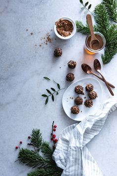 Chocolate truffles ◊ Carnets Parisiens