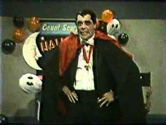 Count Scary Halloween Too Intro - 1983 WDIV Channel 4 Detroit Television - Vampire Horror Film Host - YouTube