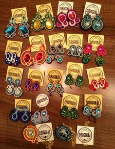 Handmade ZuzDesign soutache earings More Fun, Jewelery, The Originals, Create, Handmade, Jewlery, Jewels, Hand Made, Jewerly