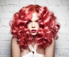 Rose Gold Loose Curls