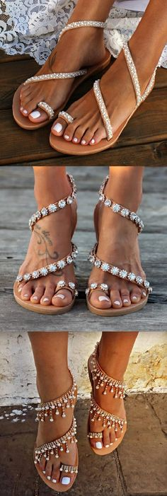 Now🛒Beautiful Bride Sandals Styles for Your Choice. - Bridal Gowns Shop Now🛒Beautiful Bride Sandals Styles for Your Choice.Shop Now🛒Beautiful Bride Sandals Styles for Your Choice. - Bridal Gowns Shop Now🛒Beautiful Bride Sandals Styles for Your Choice. Cute Shoes, Me Too Shoes, Boho Fashion, Fashion Shoes, Trendy Fashion, Fashion Ideas, Fast Fashion Brands, Zapatos Shoes, Mode Outfits