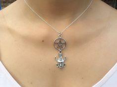 Supernatural Themed; Samulet Lucky Charm & Pentagram Necklace. | eBay