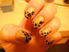 @Lauren Davis- leopard print nails!!!