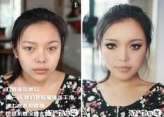An Amazing Makeup Makeover (15 pics)