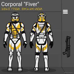 Star Wars Characters Pictures, Star Wars Pictures, Star Wars Images, Star Wars Decor, Star Wars Fan Art, Guerra Dos Clones, Star Wars Commando, Star Vars, Clone Trooper Helmet