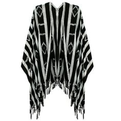"""Ketzali Soft Geo Fringe Kimono / wrap Ketzali poncho/ kimono hand woven fair trade - each purchase serving a community of women in Guatemala- ✨ limited stock. absolutely no returns one size fits all. ✨Exclusive to my closet✨can't buy anywhere else!!!✨this is regular length (not short waist length)  the material is soft light and silky☀️ 60"""" inches sleeve to sleeve 34"""" shoulder to hem this is the long version NOT CROPPED Ketzali Jackets & Coats Capes"""