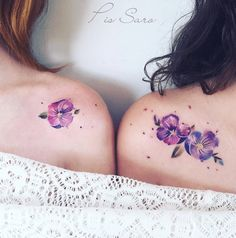 We Just Wet Our Plants Over These Super Realistic Flower Tattoos