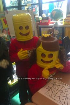 Easy and Inexpensive Lego Costumes... Coolest Homemade Costume Contest