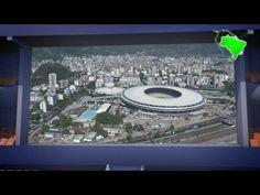 Coupe du Monde de foot 2014: Le stade Maracana, Rio de Janeiro