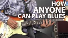 How ANYONE Can Play the Blues - Minimalistic Blues Playing - YouTube