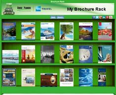 Cruise Planners Virtual Brochure Rack - Whether you are interested a cruise, river cruise, a guided land vacation, or an all-inclusive resort, find your travel inspiration by flipping through our virtual brochure rack! Solo Travel, Us Travel, Family Travel, Travel Specials, Cruise Specials, Cruise Planners, Family Cruise, Travel Brochure, Travel Agency